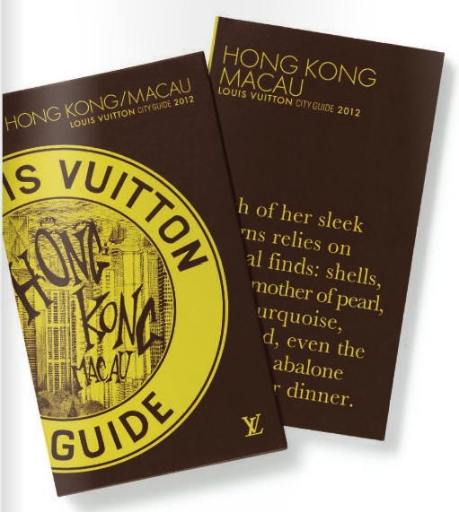 2012 Louis Vuitton Hong Kong Macau City Guide