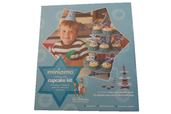 Miniamo Cupcake Kit Set - Boy