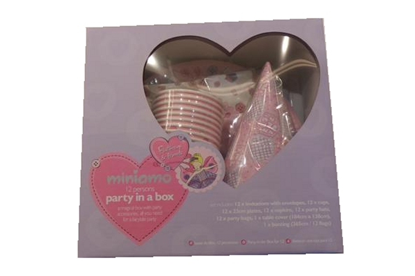 Miniamo Party Set - Girl