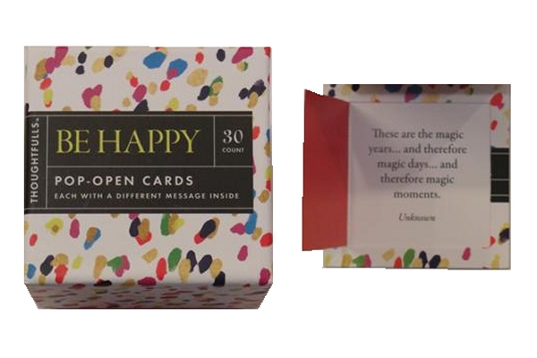 Be Happy - Pop Open Cards