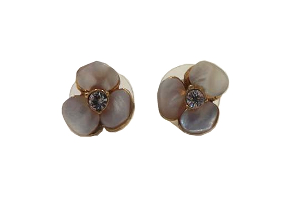 Kate Spade Disco Pansy Stud Earring