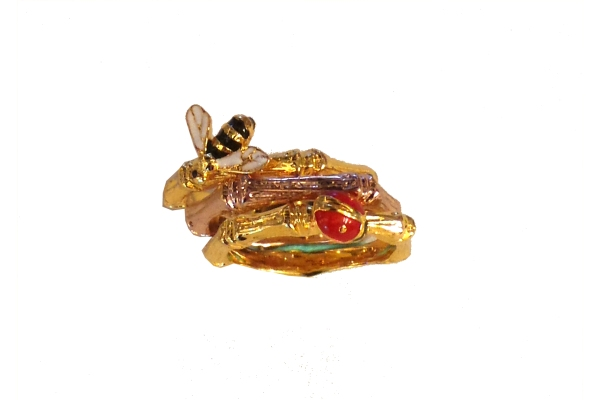 AurelieBidermann Beatle and Bee 18K Gold Plated