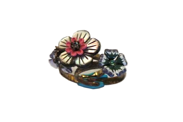 Les Nereides Double Flower Ring