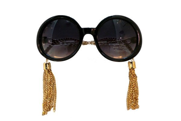 River Island Tassle Sunglasses