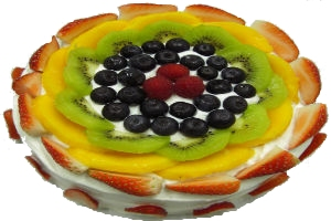 Sugar Free Fruit Cake 16cm