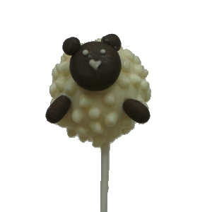 Sheep Cake Pop