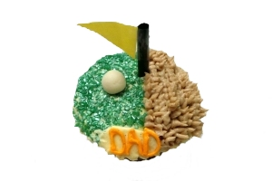 "Father's Day Cupcake ""Golf"""